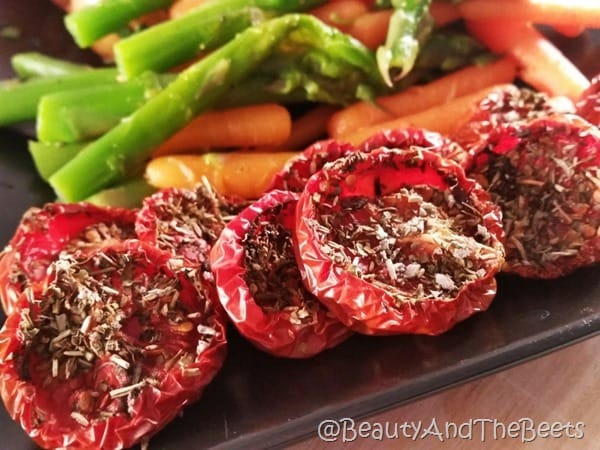 How to slow roast herb tomatoes Beauty and the Beets