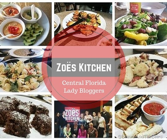 Zoes Kitchen Central Florida Lady Bloggers event 2016