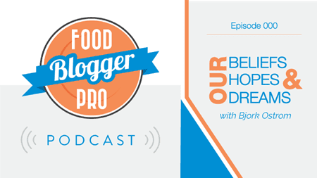 Food Blogger Pro podcast