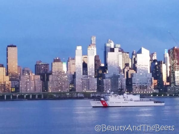 NYC Coast Guard Beauty and the Beets
