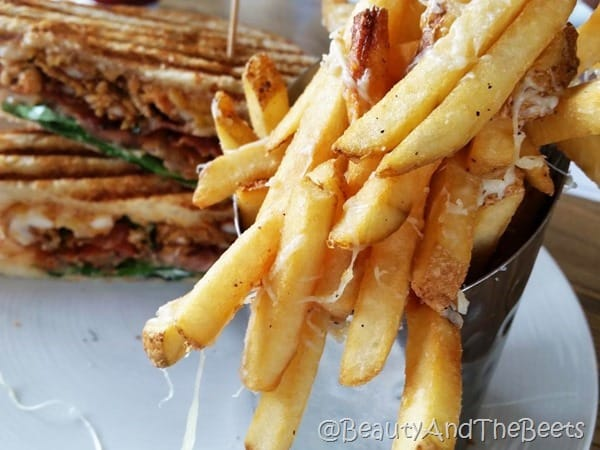 Parmesan Truffle Fries Brick and Spoon Beauty and the Beets