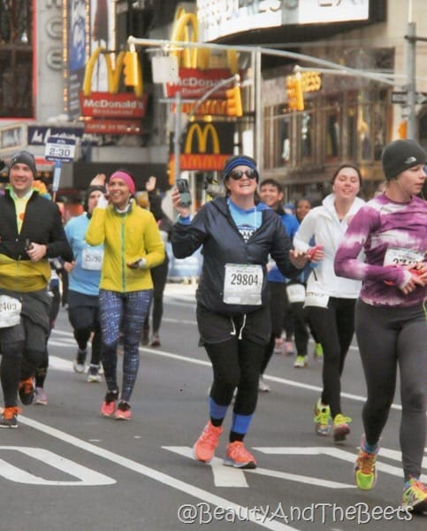 Beauty and the Beets United Airlines NYC Half Marathon fb live