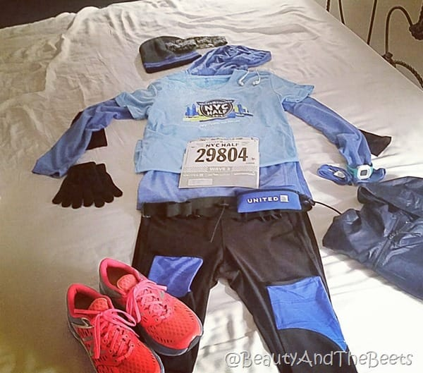 Flat Anna United Airlines NYC Half Marathon Beauty and the Beets