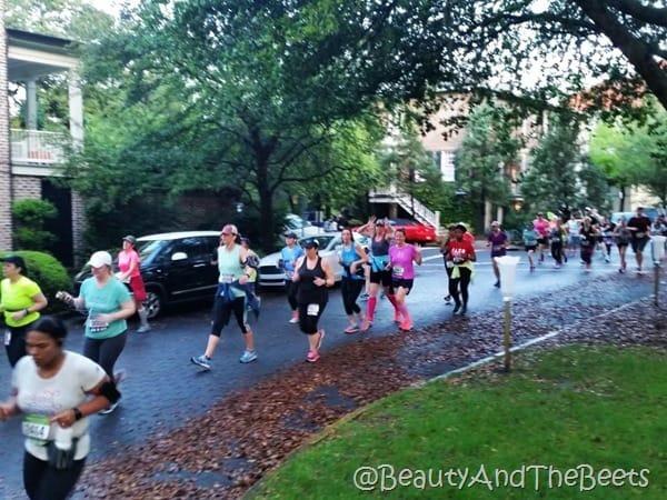 Publix Savannah Womens Half Marathon run Beauty and the Beets