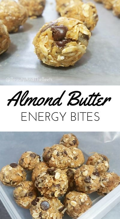 Almond Butter Energy Bites Beauty and the Beets
