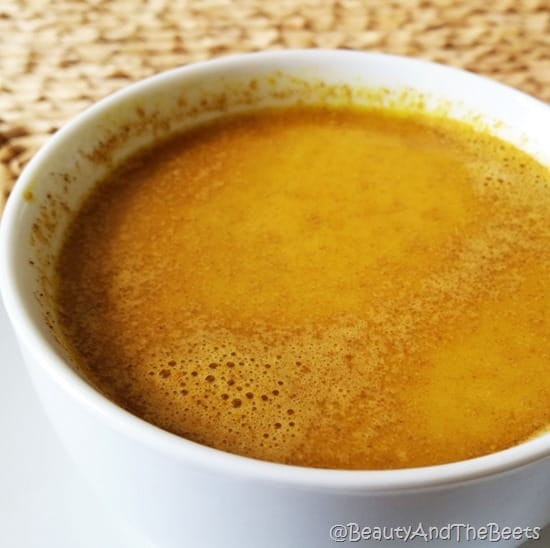 Beauty and the Beets turmeric golden milk