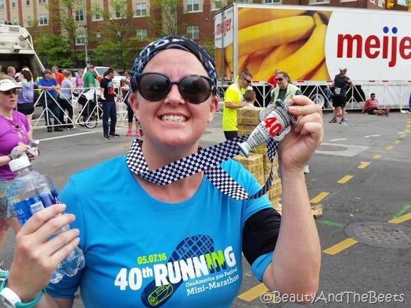IndyMini medal Beauty and the Beets