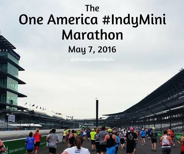 One America IndyMini Marathon 2016 Beauty and the Beets