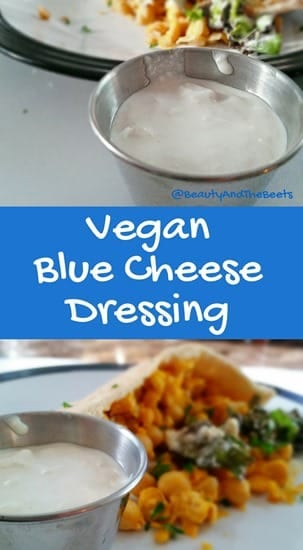 Vegan Blue Cheese Dressing Beauty and the Beets #MeatlessMonday (1)