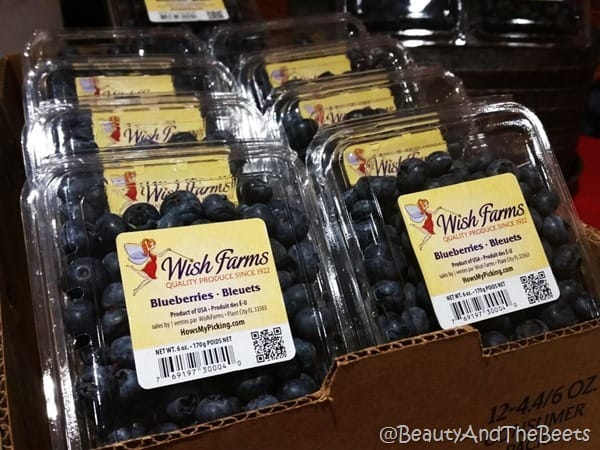 Wish Farms blueberries #FWcon Beauty and the Beets
