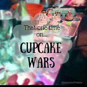 CUPCAKE WARS Beauty and the Beets that one time #RFC2016