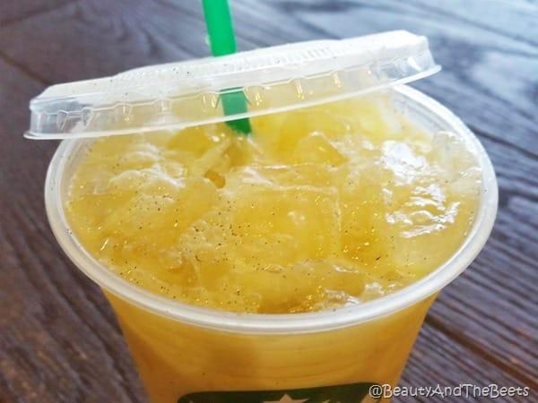 Vanilla Bean Starbucks #OrangeDrink Beauty and the Beets