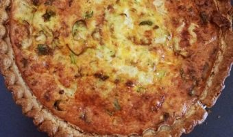 Brussels Sprouts Quiche