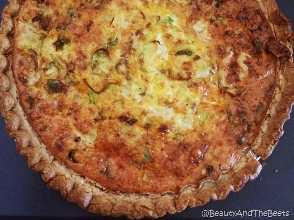 Brussels Sprouts Quiche Beauty and the Beets (3)