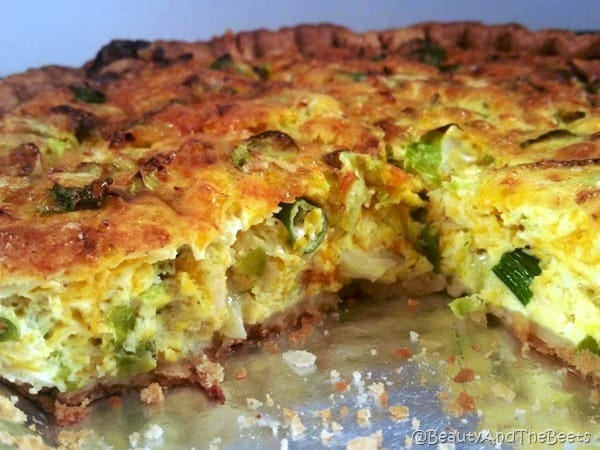 Brussels Sprouts Quiche Beauty and the Beets (6)