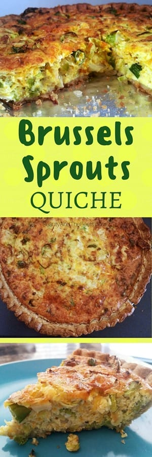Brussels Sprouts Quiche recipe by Beauty and the Beets (1)