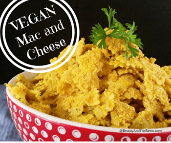 Beauty and the Beets Vegan Mac and Cheese recipe