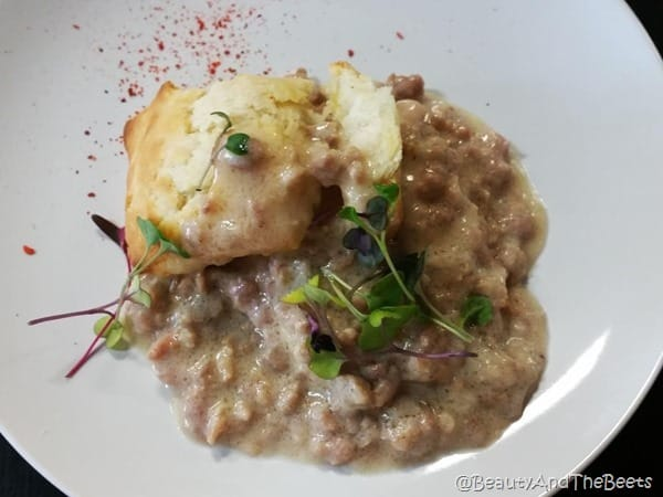 Biscuits and Gravy Tennessee Truffle Sandford Food Tours Beauty and the Beets