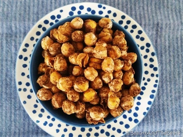 Spicy Roasted Chickpeas Beauty and the Beets 5