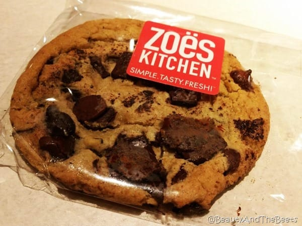 Zoes Kitchen Chocolate Chip Cookie Beauty and the Beets