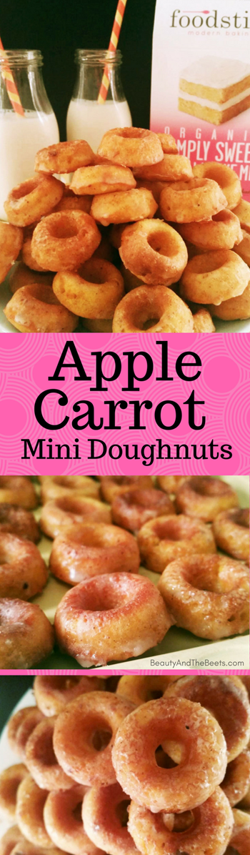 Apple Carrot Donuts by Beauty and the Beets Foodstirs