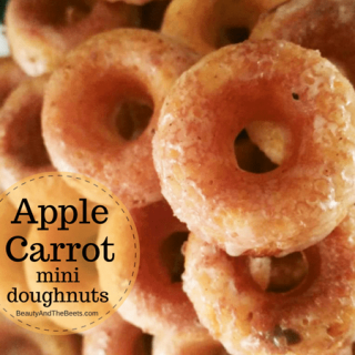 Apple Carrot Mini Doughnuts with Foodstirs