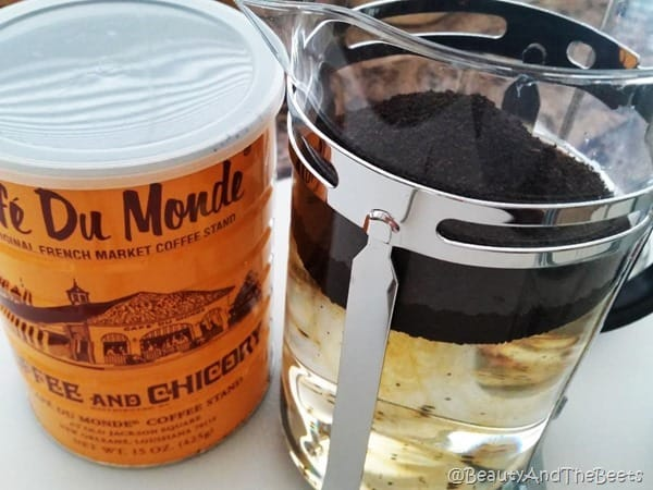 Cafe du Monde Cold Brew at home Beauty and the Beets