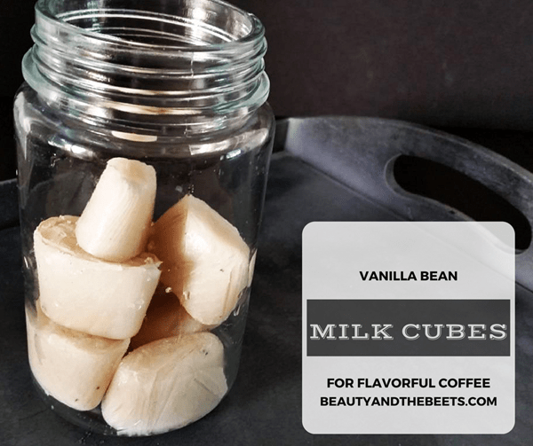 Vanilla Milk Cubes BEAUTY AND THE BEETS