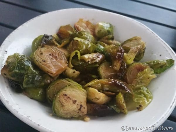 Chow Daddy's Brussels Sprouts Beauty and the Beets