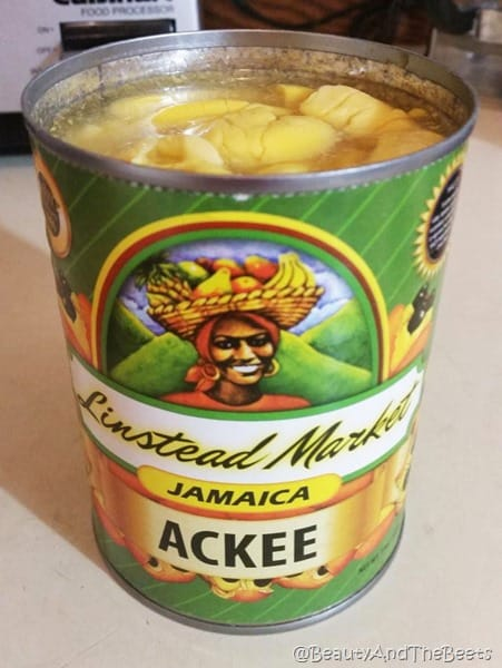 Jamaica Ackee can Beauty and the Beets