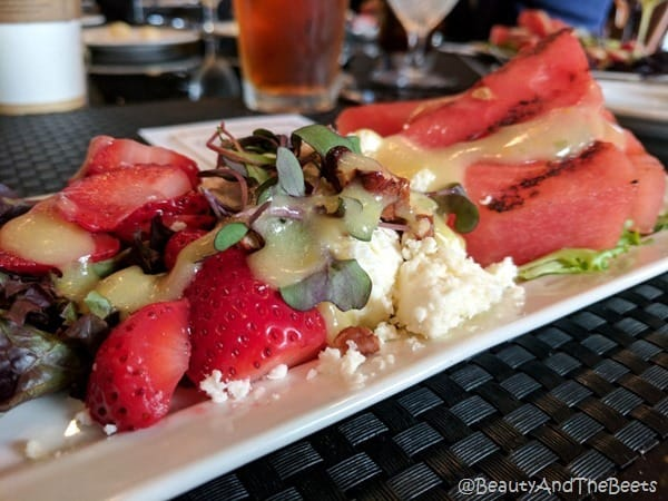 Bermudas Watermelon and Strawberry Salad Tradewinds Resort Beauty and the Beets