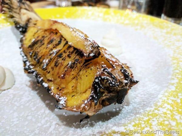 Grilled Pineapple OGGI Italian Davis Island Beauty and the Beets