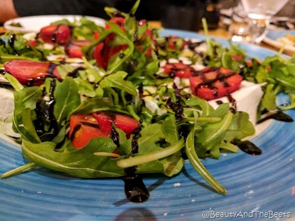 Strawberry Mozzarella Wheel OGGI Italian Davis Island Beauty and the Beets