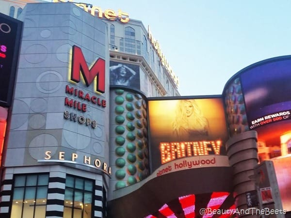 Planet Hollywood Las Vegas Miracle Mile Shops Beauty and the Beets