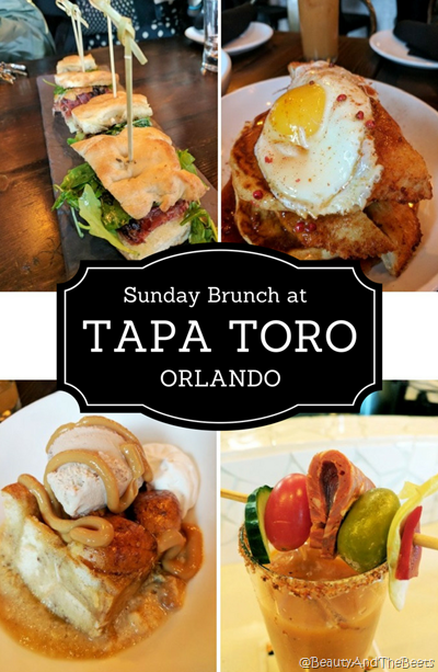 Sunday Brunch at Tapa Toro Orlando Beauty and the Beets
