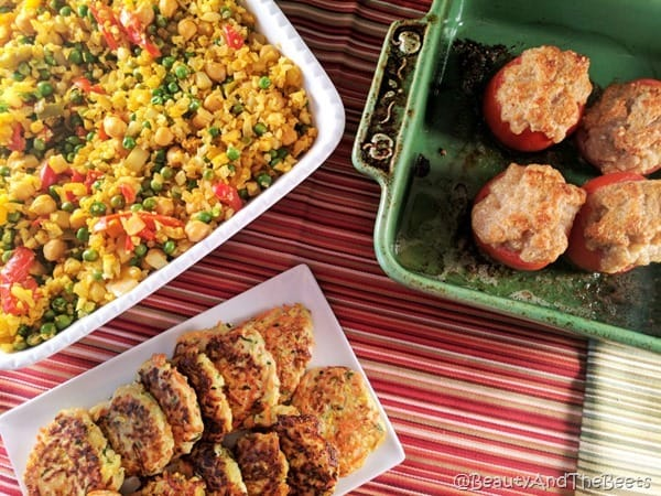 Parmesan Baked Tomtoes Beauty and the Beets (11)