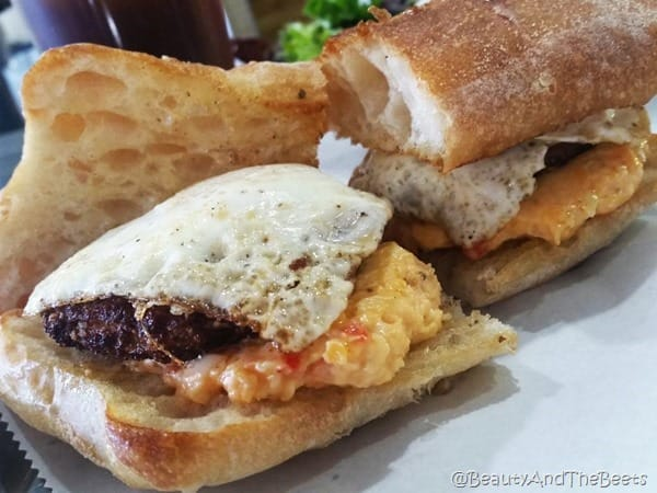 Pimento Sausage Egg Se7en Bites Beauty and the Beets