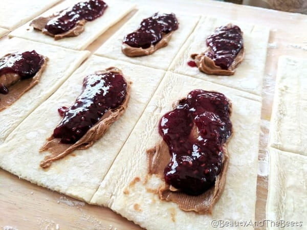 Raspberry Puff Tarts recipe by Beauty and the Beets (3)