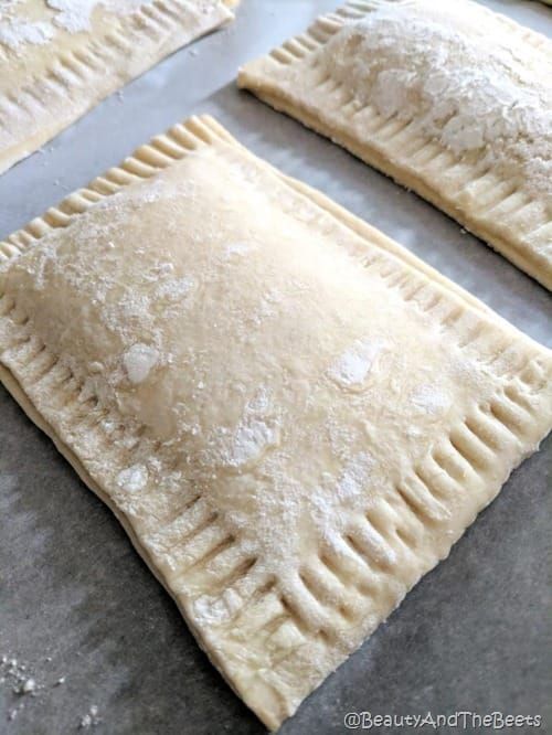 Raspberry Puff Tarts recipe by Beauty and the Beets (5)