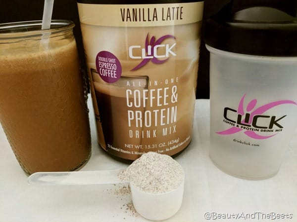 Vanilla Latte Click Coffee Protein Beauty and the Beets
