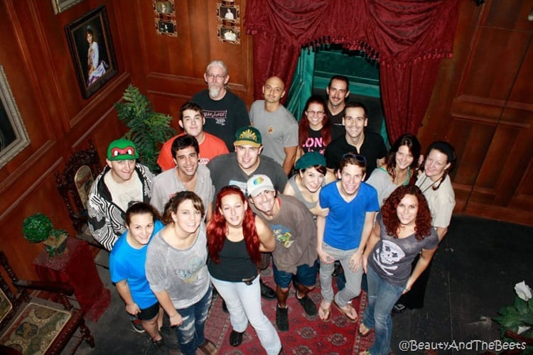 the cast of Edgar Allan Poe Haunted House