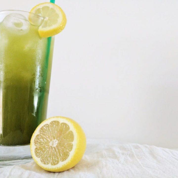 Starbucks Matcha Lemonade Copycat