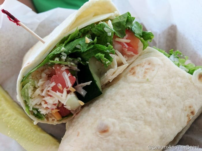 Garden Veggie Wrap Silver Springs State Park Beauty and the Beets