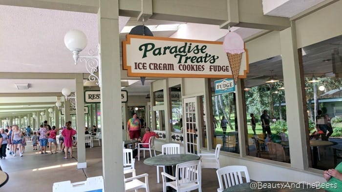 Ice cream Silver Springs State Park Beauty and the Beets