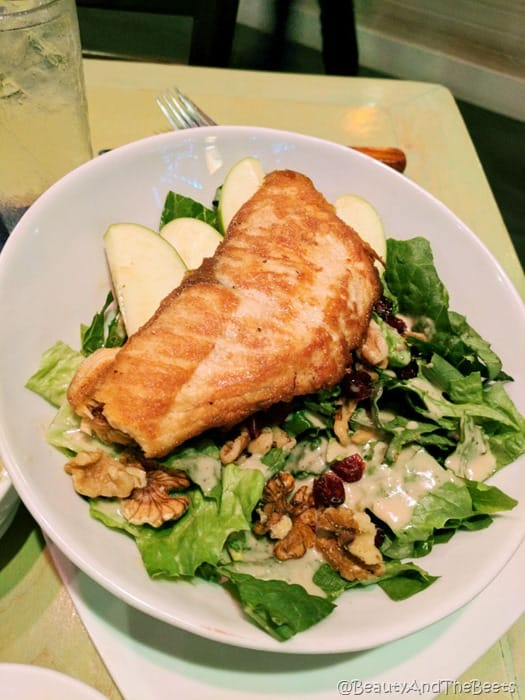 Salmon Salad Crazy Cucumber Ocala Beauty and the Beets