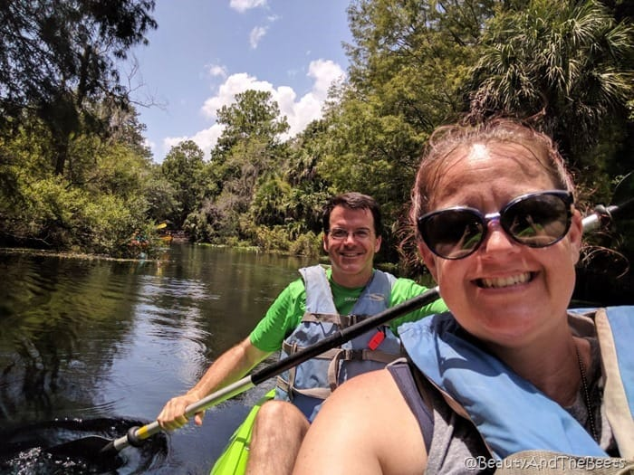 kayak Silver Springs Ocala Beauty and the Beets