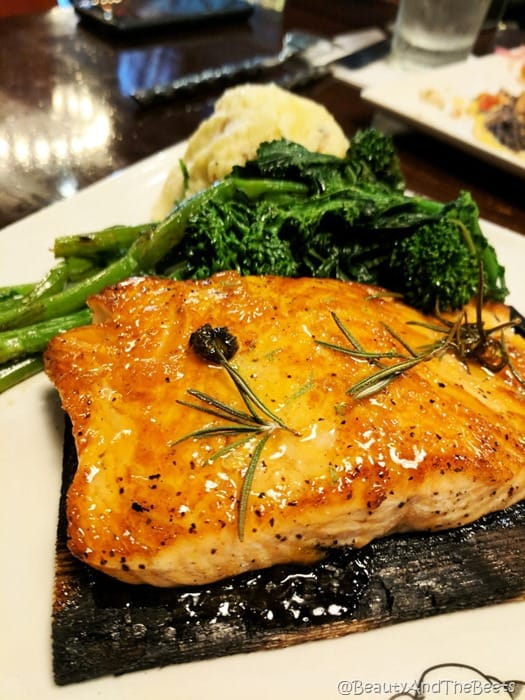 Apricot Glaze Salmon Guy Fieris American Kitchen Villages Beauty and the Beets