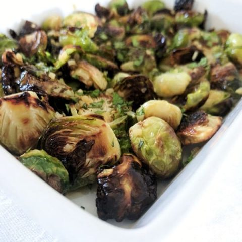 Brussels Sprouts in Fish Sauce Dressing