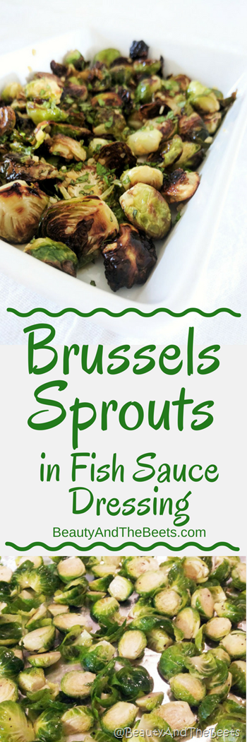 Brussels Sprouts Fish Sauce Beauty and the Beets