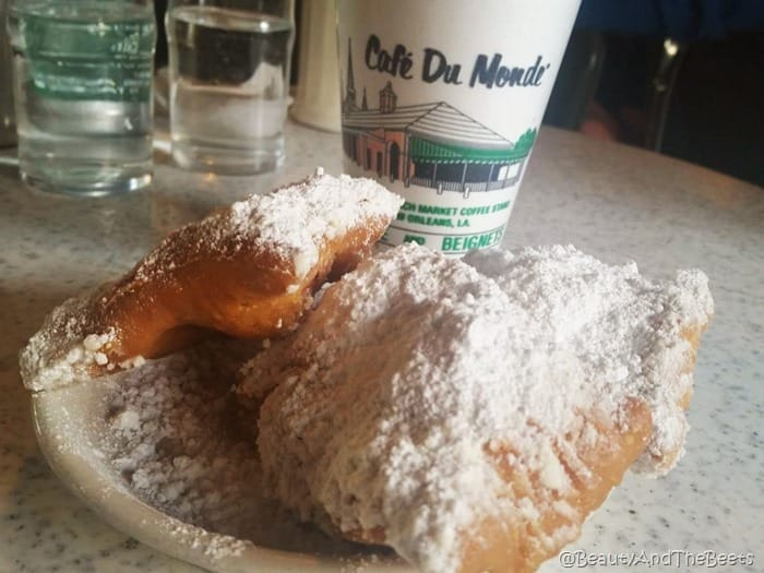 Cafe du Monde beignets Beauty and the Beets